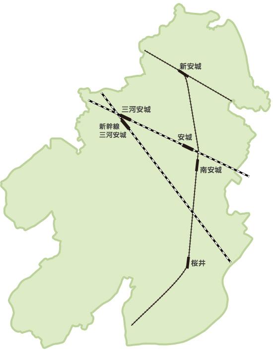 安城市マップ